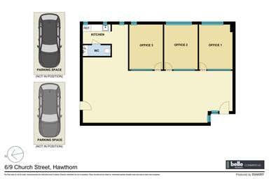 Suite 6/9 Church  Street Hawthorn VIC 3122 - Floor Plan 1