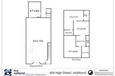 402 High Street Maitland NSW 2320 - Floor Plan 1
