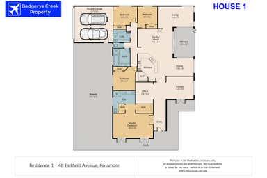 48 Bellfield Avenue Rossmore NSW 2557 - Floor Plan 1