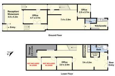 43 Ryrie Street Geelong VIC 3220 - Floor Plan 1