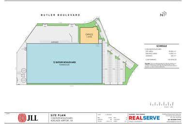 12-16 Butler Boulevard Adelaide Airport SA 5950 - Floor Plan 1