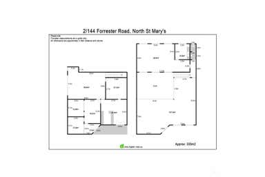 144 Forrester Road North St Marys NSW 2760 - Floor Plan 1