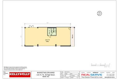 Unit 15, 79-83 High Street Kew VIC 3101 - Floor Plan 1