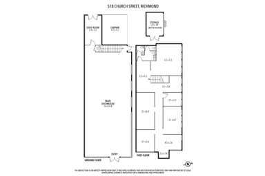 518 Church Street Richmond VIC 3121 - Floor Plan 1