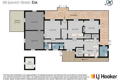 The Rectory, 89 Ipswich Street Esk QLD 4312 - Floor Plan 1
