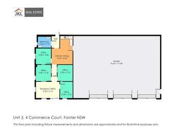 4 COMMERCE COURT Forster NSW 2428 - Floor Plan 1