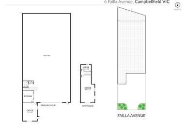 6 Failla Avenue Campbellfield VIC 3061 - Floor Plan 1