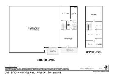 Unit 2, 107 Hayward Avenue Torrensville SA 5031 - Floor Plan 1