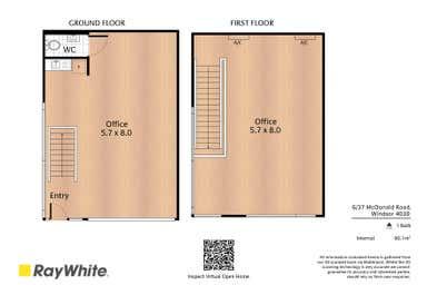 37 McDonald Road Windsor QLD 4030 - Floor Plan 1