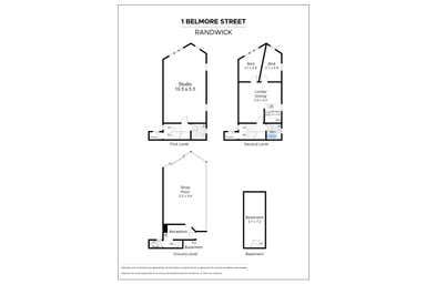 1 Belmore Road Randwick NSW 2031 - Floor Plan 1