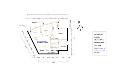 Parkview, 35A/1 Maitland Place Norwest NSW 2153 - Floor Plan 1
