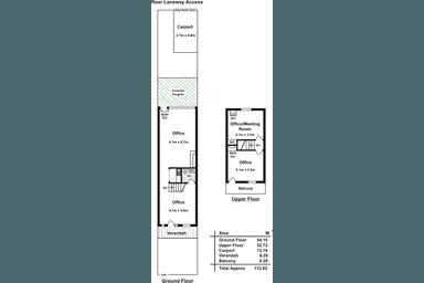 52 Hutt Street Adelaide SA 5000 - Floor Plan 1