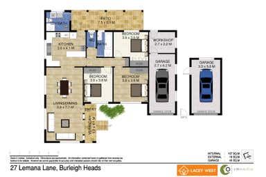 27 Lemana Lane Burleigh Heads QLD 4220 - Floor Plan 1