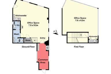 1 & 2b/2-4 Mercer Street Geelong VIC 3220 - Floor Plan 1