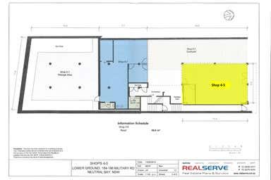 Shop 4-5 Rear, 184 Military Road Neutral Bay NSW 2089 - Floor Plan 1