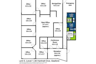 1/38 Hartnett Drive Seaford VIC 3198 - Floor Plan 1