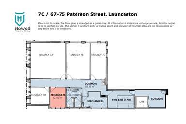 7C/67-75 Paterson Street Launceston TAS 7250 - Floor Plan 1