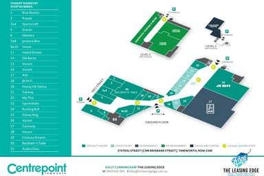 Centrepoint Tamworth, 374 Peel Street Tamworth NSW 2340 - Floor Plan 1
