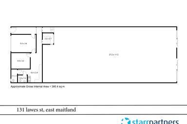 131 Lawes East Maitland NSW 2323 - Floor Plan 1