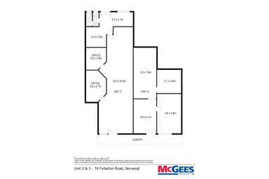 2 & 3/74 Fullarton Road Norwood SA 5067 - Floor Plan 1