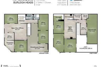 1/37 Township Drive Burleigh Heads QLD 4220 - Floor Plan 1