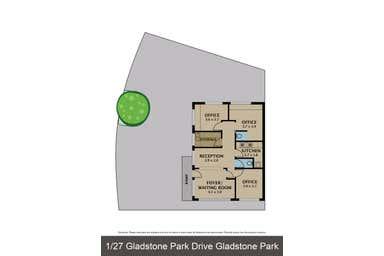1/27 Gladstone Park Drive Gladstone Park VIC 3043 - Floor Plan 1