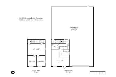 Unit 1, 14 Kennedy Drive Cambridge TAS 7170 - Floor Plan 1
