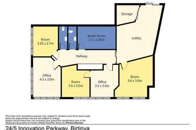 24/5 Innovation Parkway Birtinya QLD 4575 - Floor Plan 1