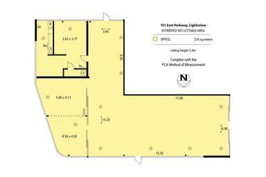 155-161 East Parkway Lightsview SA 5085 - Floor Plan 1