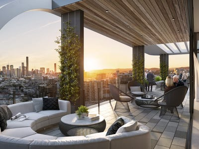 Aveo Newstead Retirement Living, Elevated