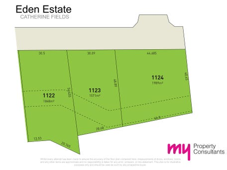 Lot 1124 Eden Estate, Catherine Field