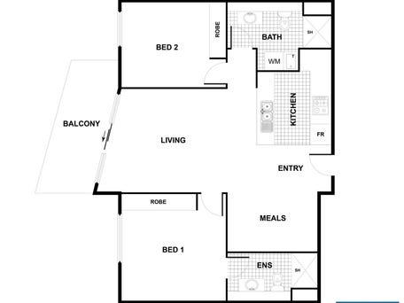 Unit 69 Esque Apartments, Franklin