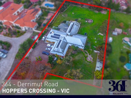 364 Derrimut Rd Hoppers Crossing Vic 3029 House For Sale