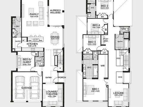 Balmoral 38MKI (Majestic facade) - floorplan