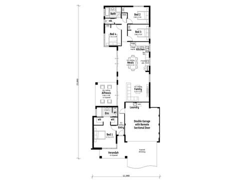 The Dominion - floorplan