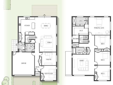 Mapleton 1834 N01 - floorplan