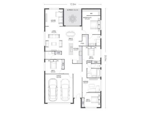 Bradfield 26 - floorplan