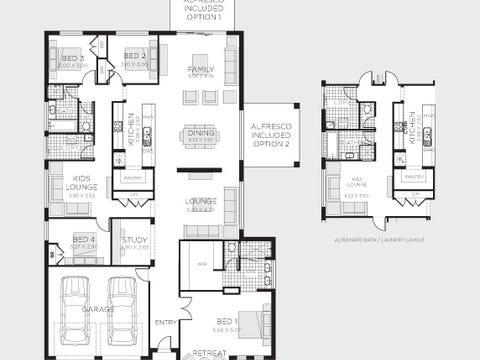 Clifton 31 (Trend Facade) - floorplan