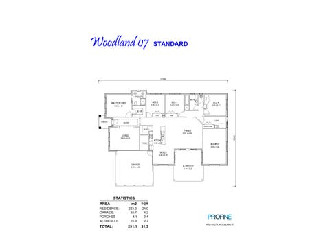 Woodland 31 - floorplan