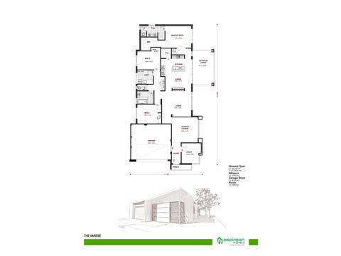 The Varese - floorplan
