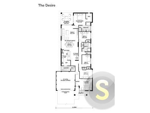 The Desire - floorplan