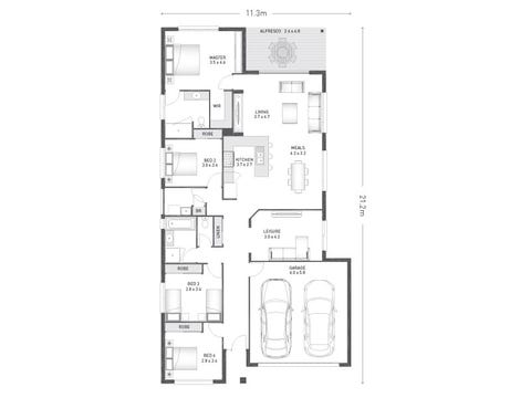 Bellfield 23 - floorplan