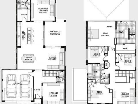 Seaview 36 (Trend Facade) - floorplan