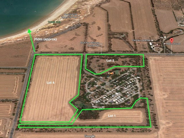 Lot 1, Bowering  Hill Road & Lots 3 & 4 Tuitt Road, Aldinga, SA 5173