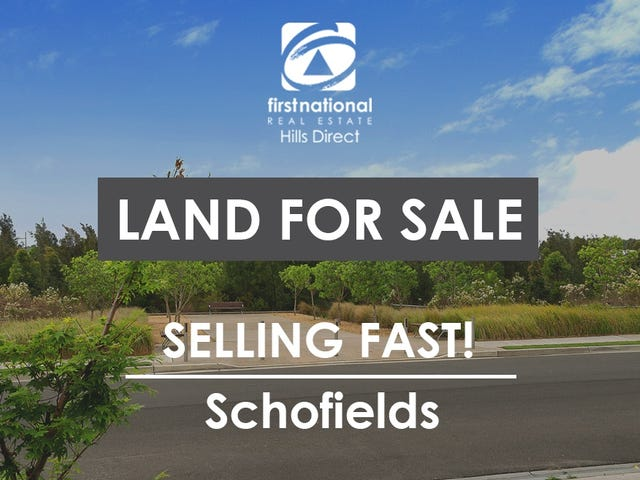 Schofields, address available on request