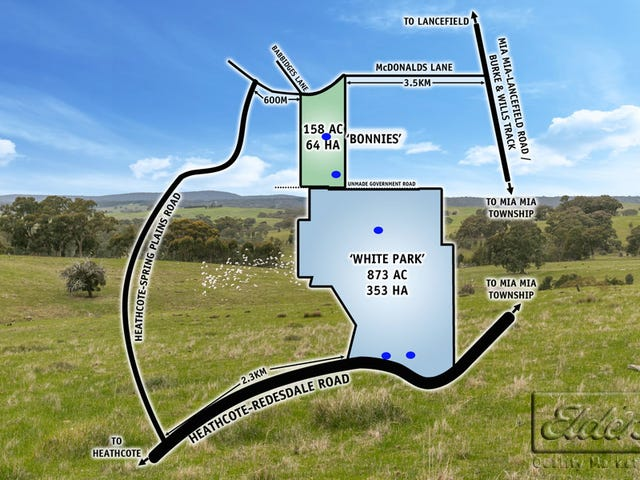 0, 0 Heathcote - Redesdale Road & McDonalds Lane, Mia Mia, Vic 3444