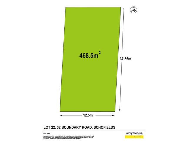 Lot 22/32 Boundary Road, Schofields, NSW 2762