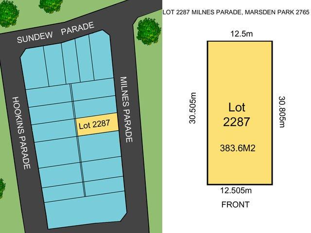 Lot 2287 Milnes Parade, Marsden Park, NSW 2765