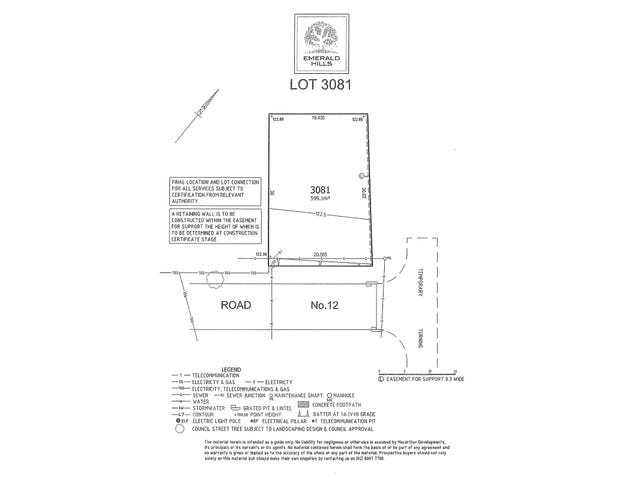 Lot 3081 Stage 3, Emerald Hills, Leppington, NSW 2179