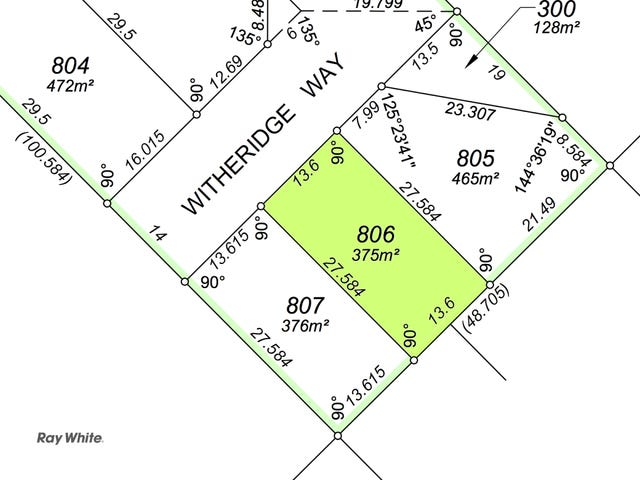 Lot 806 Witheridge Way, East Cannington, WA 6107